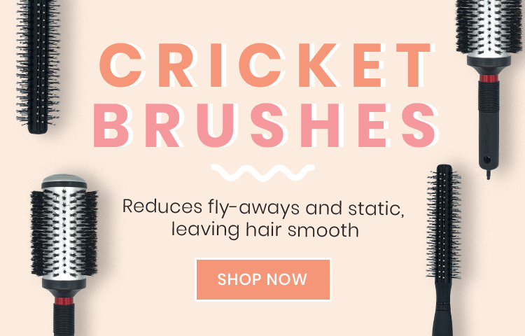 New Cricket Brushes Available At Catwalk Hair & Beauty Store Australia