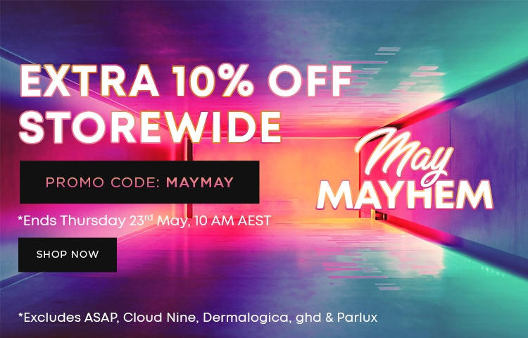 Extra 10% OFF May Mayhem Sale Storewide