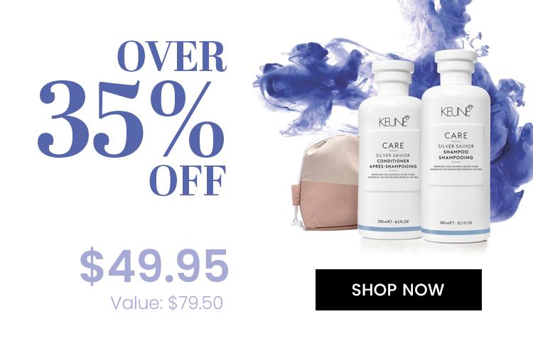 Over 35% OFF Keune Care Silver Saviour Bonus Share Pack