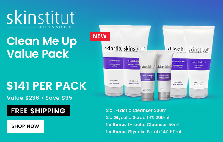 Skinstitut Clean Me Up Value Pack with Free Shipping Australia