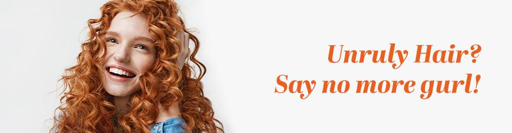 Unruly Curl? Say No More Gurl
