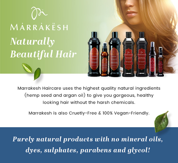 Marrakesh Natural Hair Care