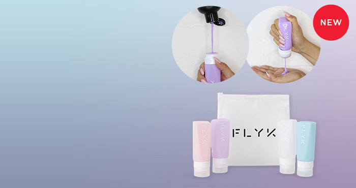 FLYK Reusable bottles for people on the go!