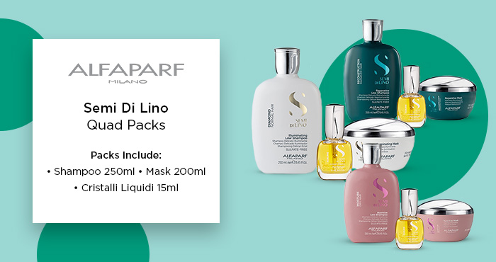 Alfaparf Semi Di Lino Trio Packs