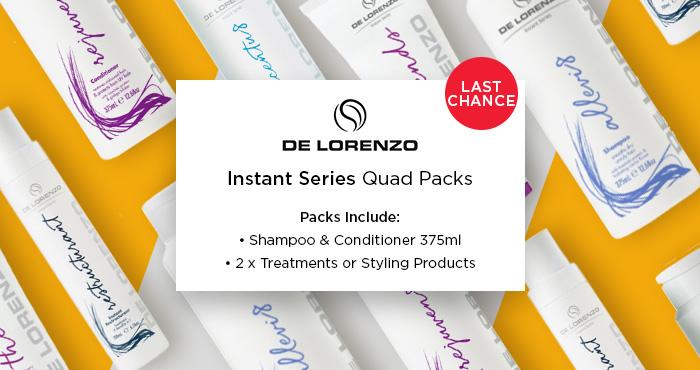 De Lorenzo Instant Series Quad Packs