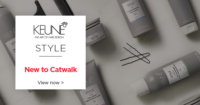 New Keune Style Range - Available on Catwalk
