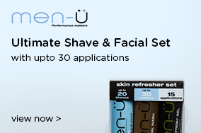 Men-U Ultimate Shave & Facial Set