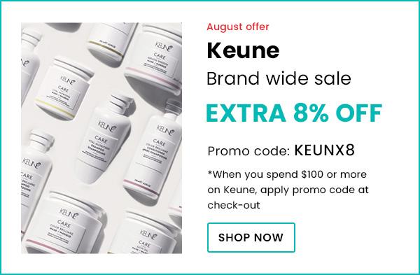 Keune 8% Off